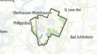 Mapa / Waghäusel