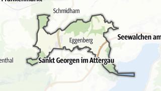 Mapa / Berg im Attergau
