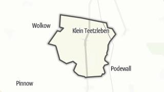 Cartina / Groß Teetzleben
