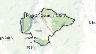 Mapa / Monte San Giovanni in Sabina
