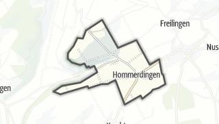 地图 / Hommerdingen
