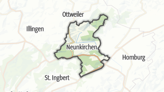 Hartă / Neunkirchen