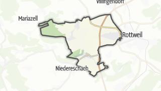 Cartina / Zimmern ob Rottweil