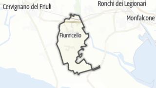 מפה / Fiumicello