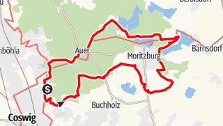 Karte der Tour Sport- und Freizeitwanderung Friedewald Tour 4