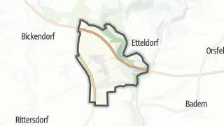 Karte / Fließem