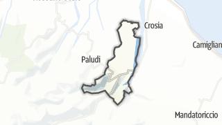 Mapa / Cropalati