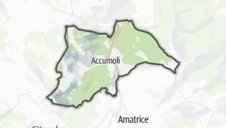 Mapa / Accumoli