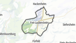 Karte / Frei-Laubersheim