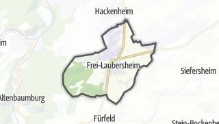 Map / Frei-Laubersheim
