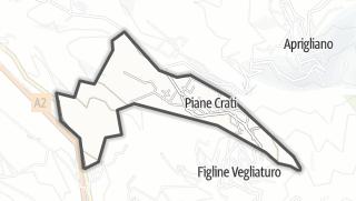 Mapa / Piane Crati