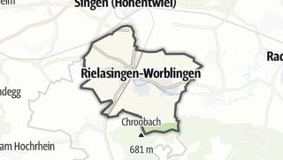 Mapa / Rielasingen-Worblingen