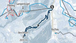 Map / Brechhorn über Foissenkaralm