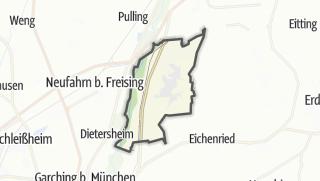 Cartina / Hallbergmoos