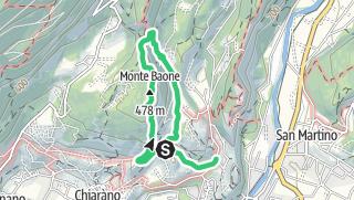 Karte / Monte Baone Südgrat - Via del 92° Congresso