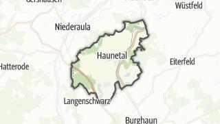Karte / Haunetal