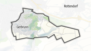 Mapa / Gerbrunn