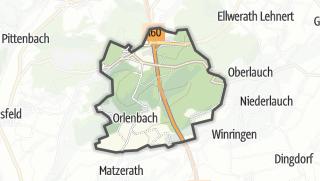 Karte / Orlenbach