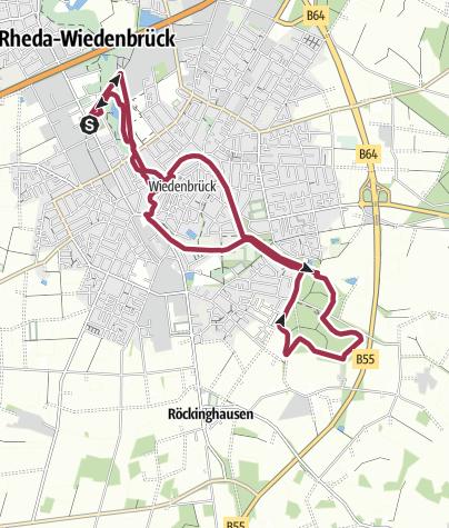 Karte / B+H: 2015-01-15 - RWD ins Stadtholz