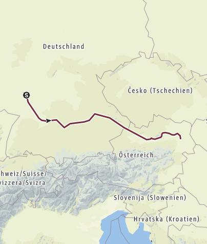 Karte / Von Lorsch nach Wien