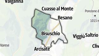 地图 / Bisuschio