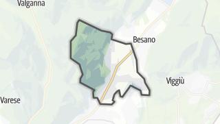 Mapa / Bisuschio