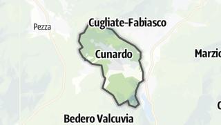 Mapa / Cunardo