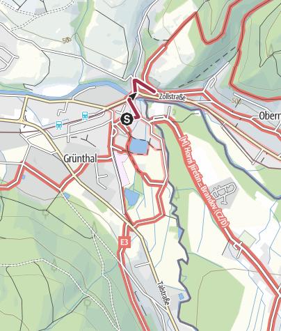 Karte / Saigerhütte - Pulvermühle - Katzenstein