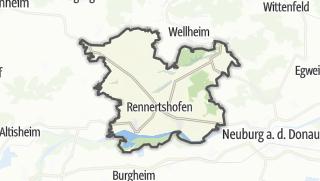 Mapa / Rennertshofen