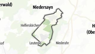 Cartina / Ötzingen