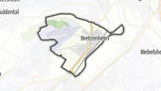 Karte / Bretzenheim
