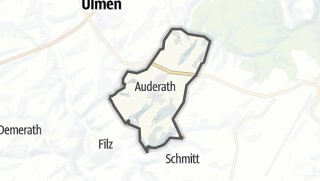 Karte / Auderath