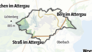 Mapa / Sankt Georgen im Attergau
