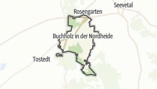 מפה / Buchholz in der Nordheide