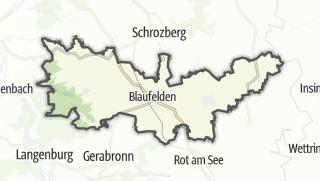 地图 / Blaufelden