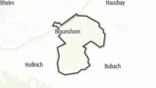 Karte / Braunshorn