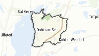 Carte / Dobin am See