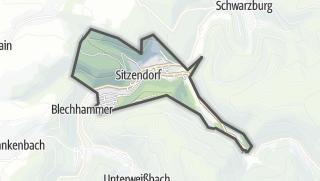 地图 / Sitzendorf