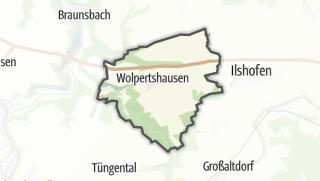 地图 / Wolpertshausen