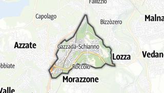 Mapa / Gazzada Schianno