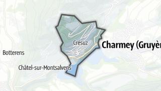 מפה / Crésuz