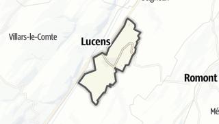 Mapa / Curtilles