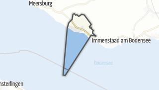 地图 / Hagnau am Bodensee