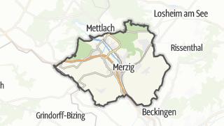 Karte / Merzig