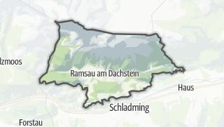 Mapa / Ramsau am Dachstein