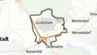 Carte / Gundelsheim