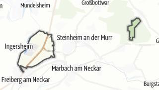 地图 / Pleidelsheim