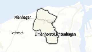 מפה / Elmenhorst/Lichtenhagen