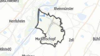 Mapa / Lichtenau