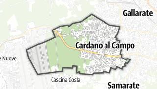 Mapa / Cardano al Campo